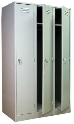 Металлический шкаф для одежды сборно-разборный