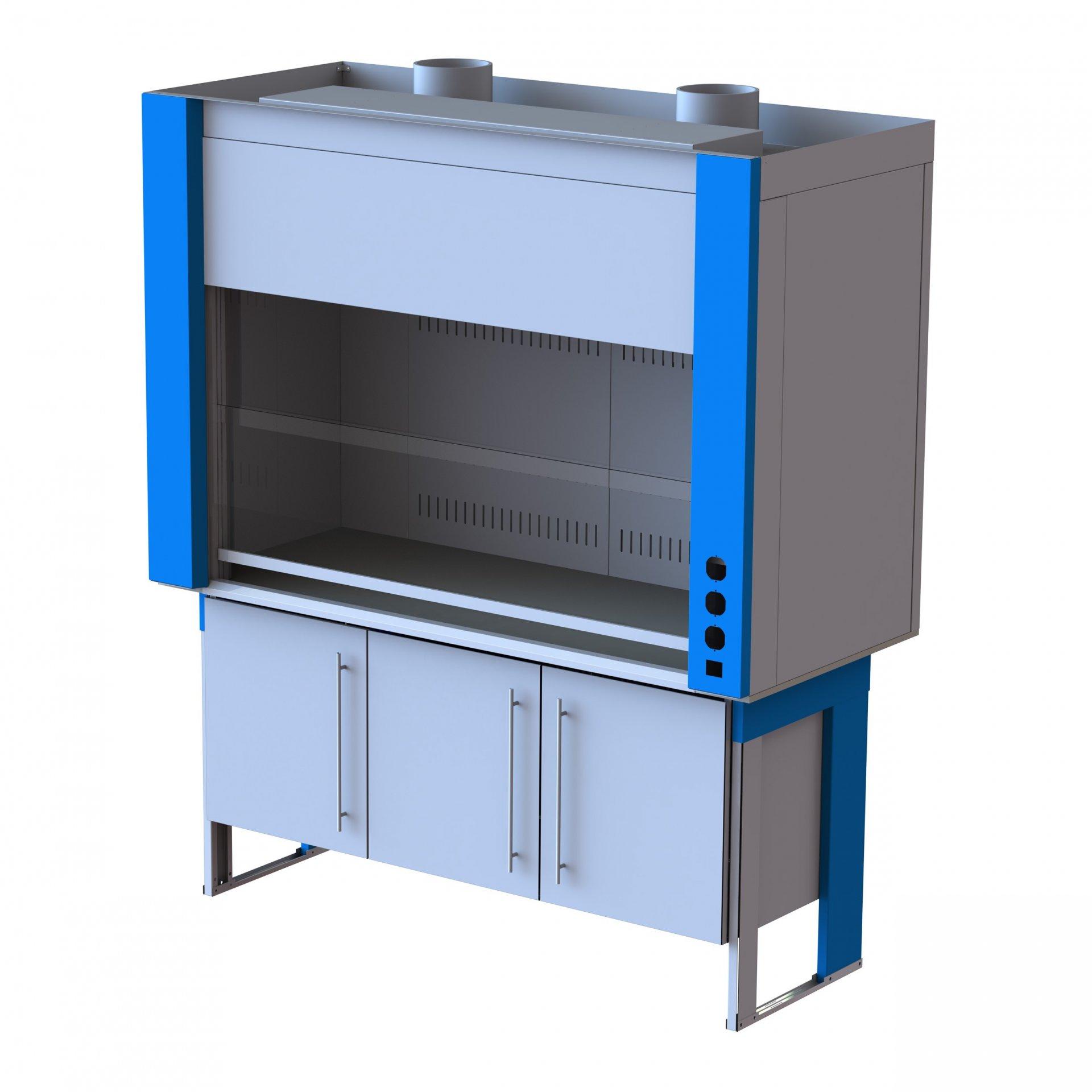Модель вытяжного шкафа