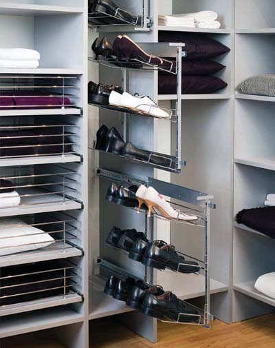 Модули для обуви в шкафу