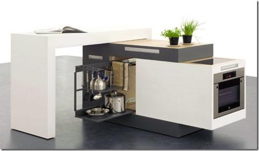 Модульная кухня трансформер