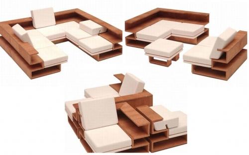 Модульная мебель трансформер