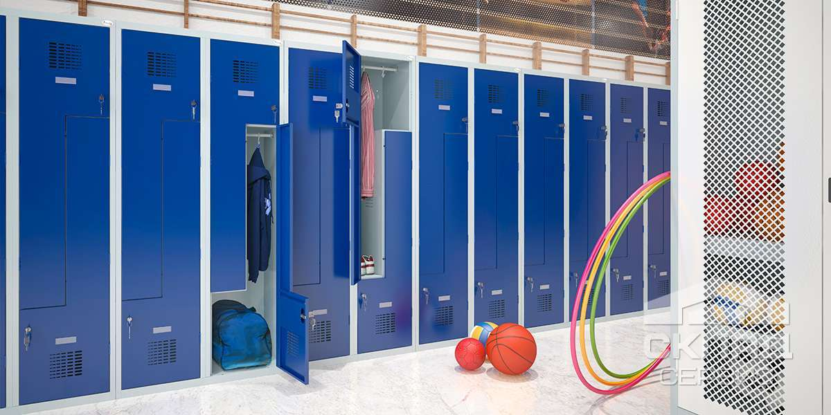 Модульные шкафы для спецодежды