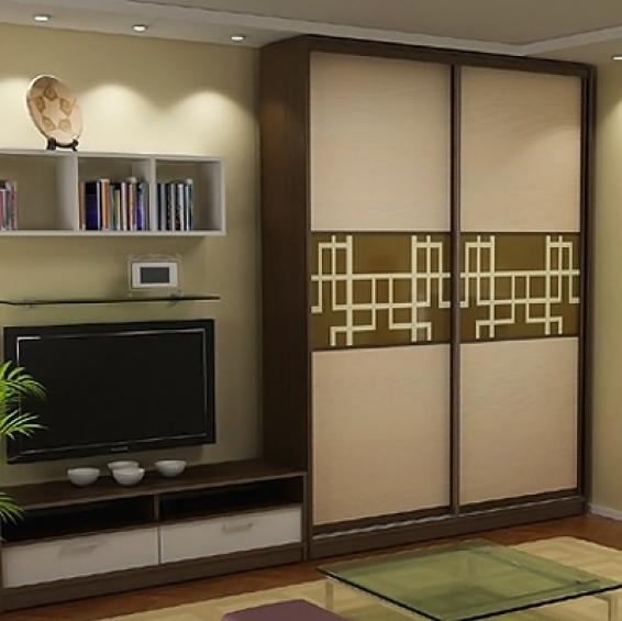 Модульный шкаф в зал