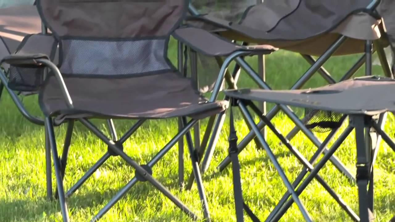 Мягкий складной стул