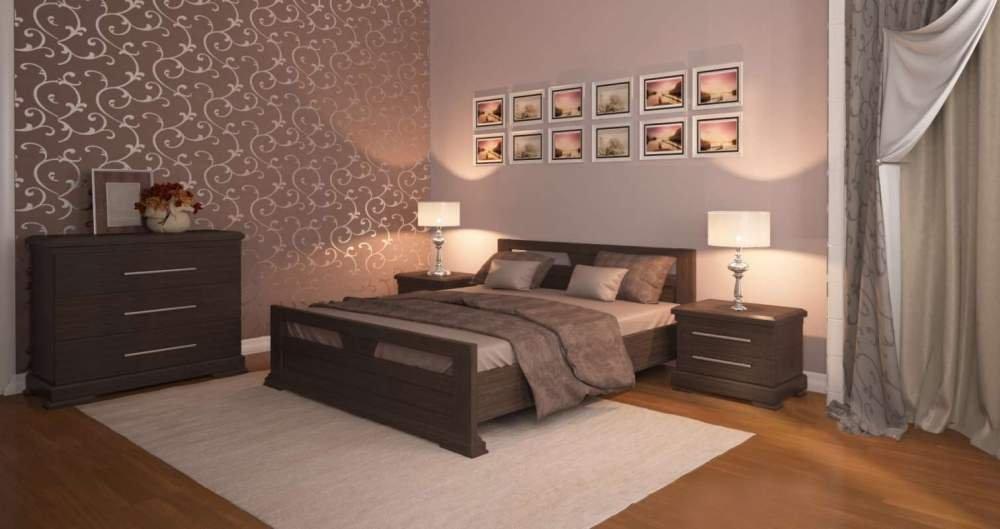 Набор мебели из массива дуба для спальни