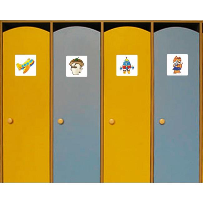 картинки на шафи в дитячому садку