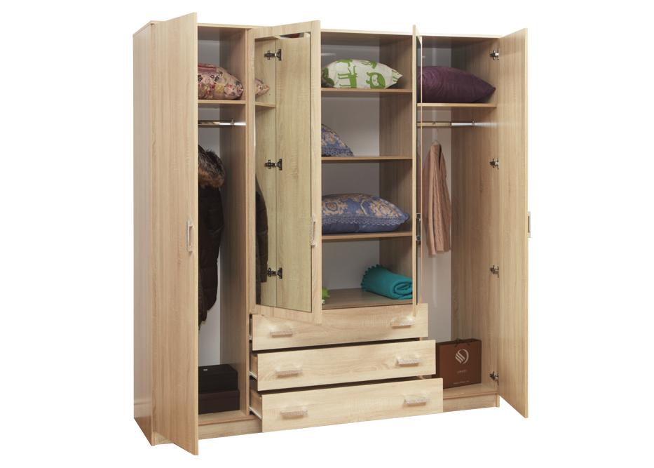 Наполнение комбинированного шкафа