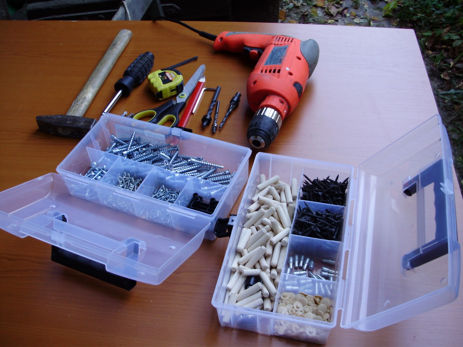 Необходимый инструмент и детали