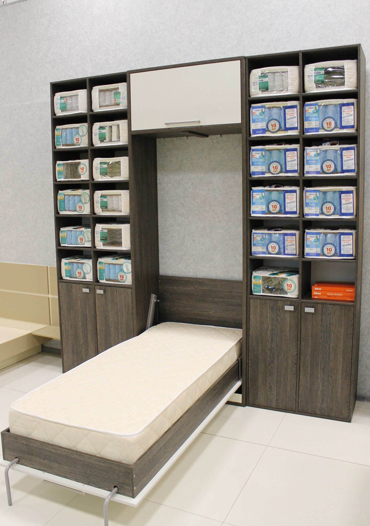 Односпальная кровать трансформер