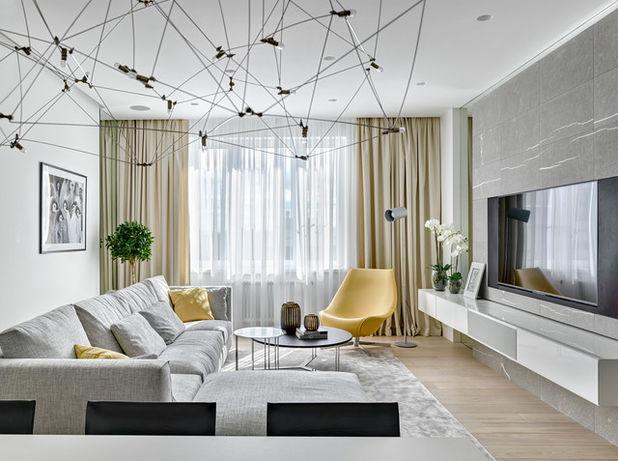 Оригинальное расположение мебели