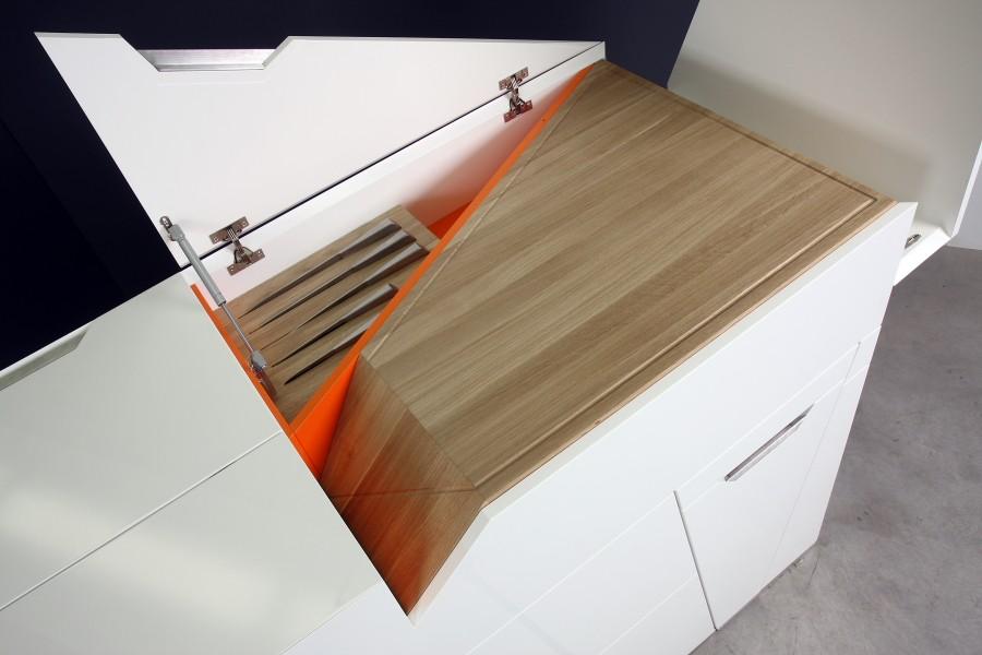 Практичная мебель трансформер для кухни