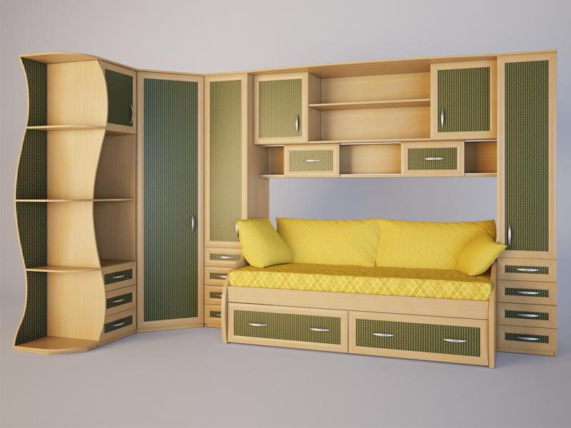 Практичная угловая мебель