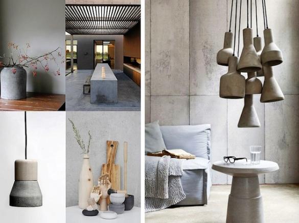 Практичность бетонной мебели