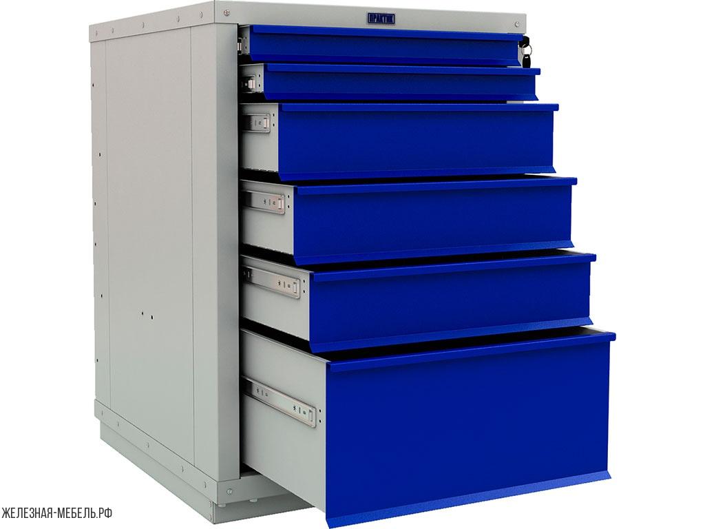 Практичный железный шкаф