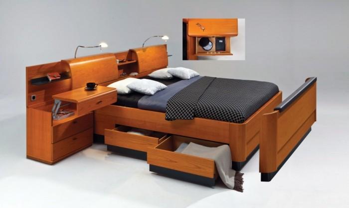 Практиность в спальне