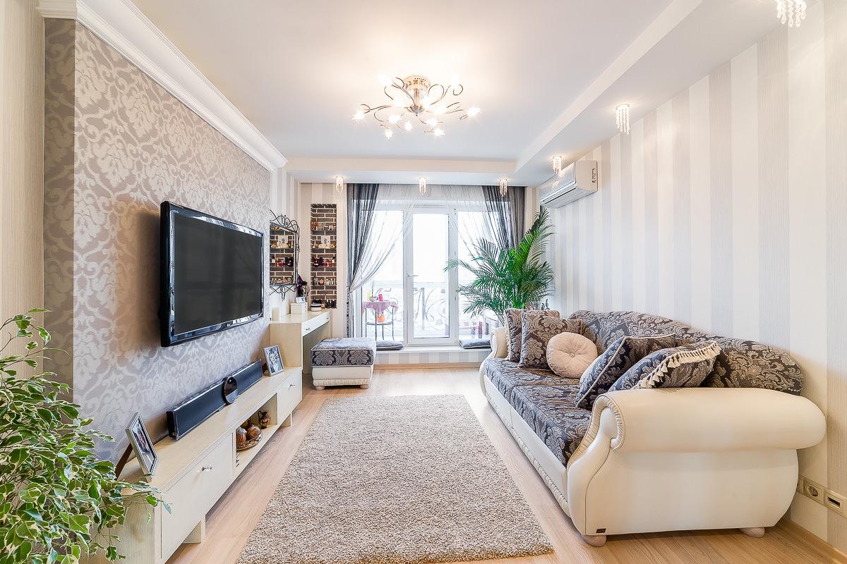 Правильно размещаем диван в комнате