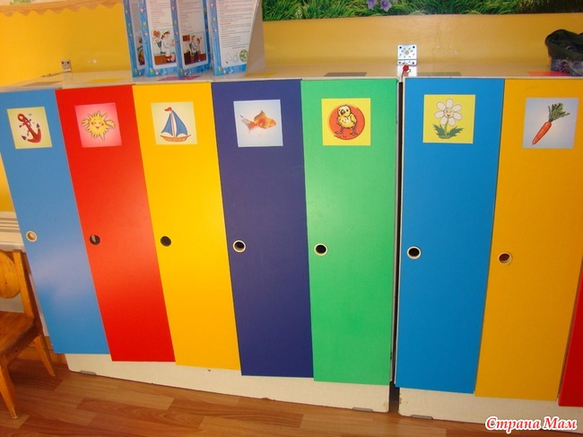 Преображение шкафчиков