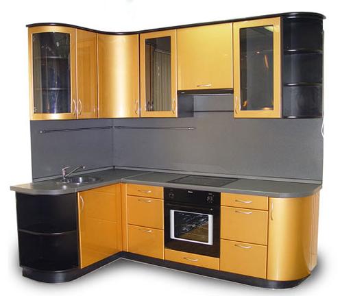 Применение черного цвета для изготовления мебели