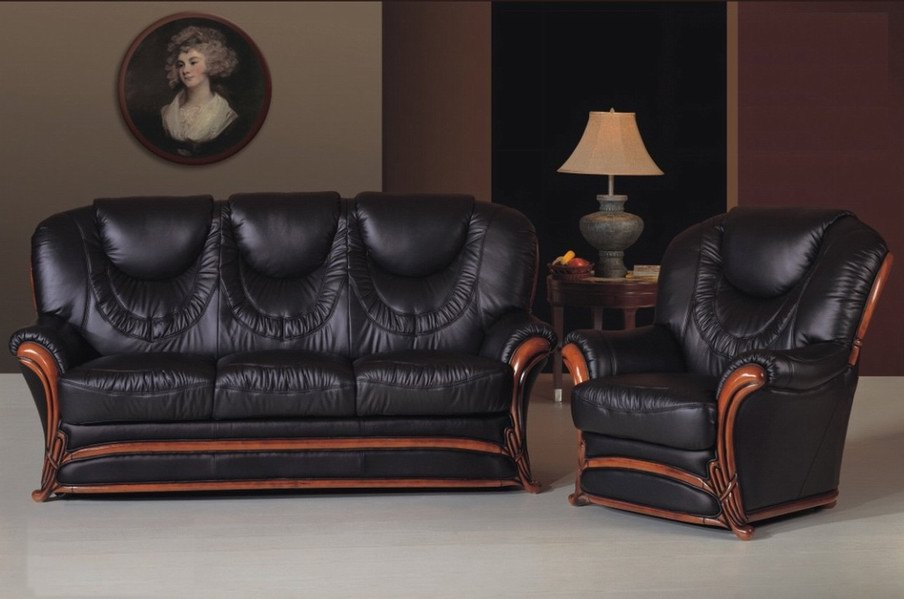 Применение кожаной мебели