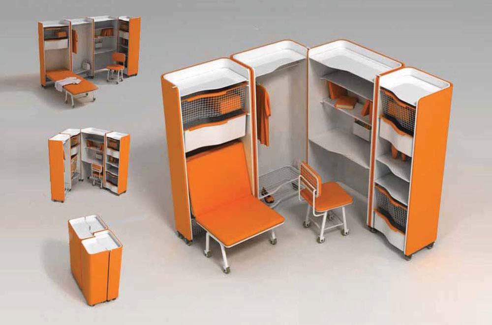 Применение мебели трансформер