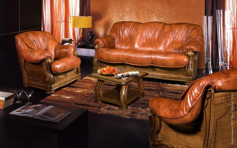 Пример интерьера гостиной