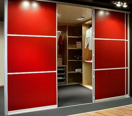Примеры гардеробных шкафов
