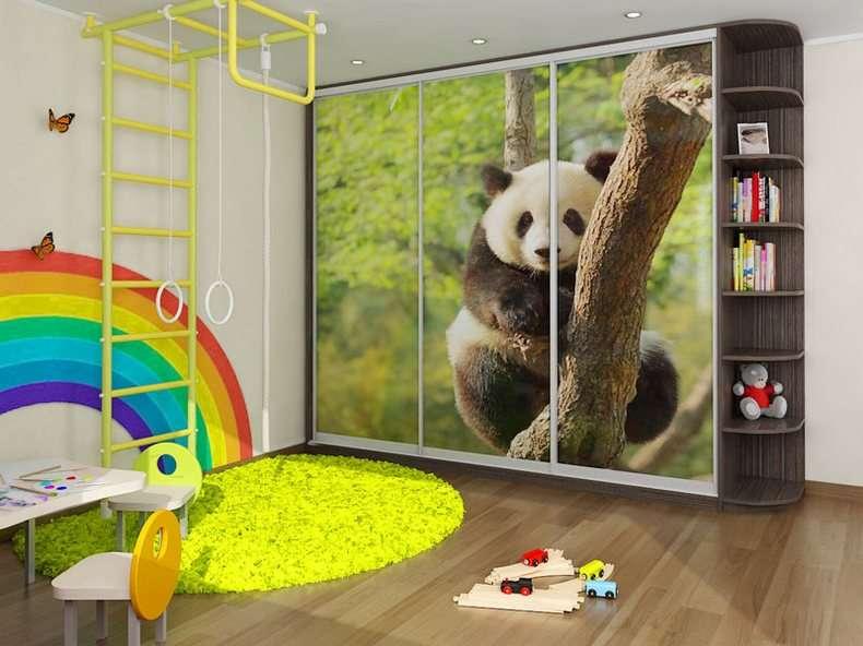 Примеры шкафов купе в детской