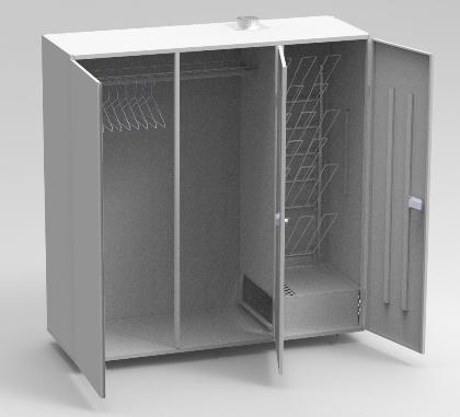 Промышленный сушильный шкаф