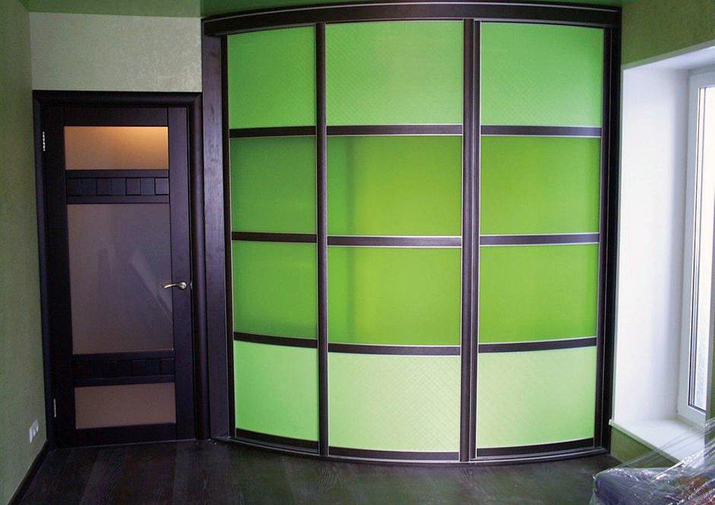Прямые модели радиусных шкафов