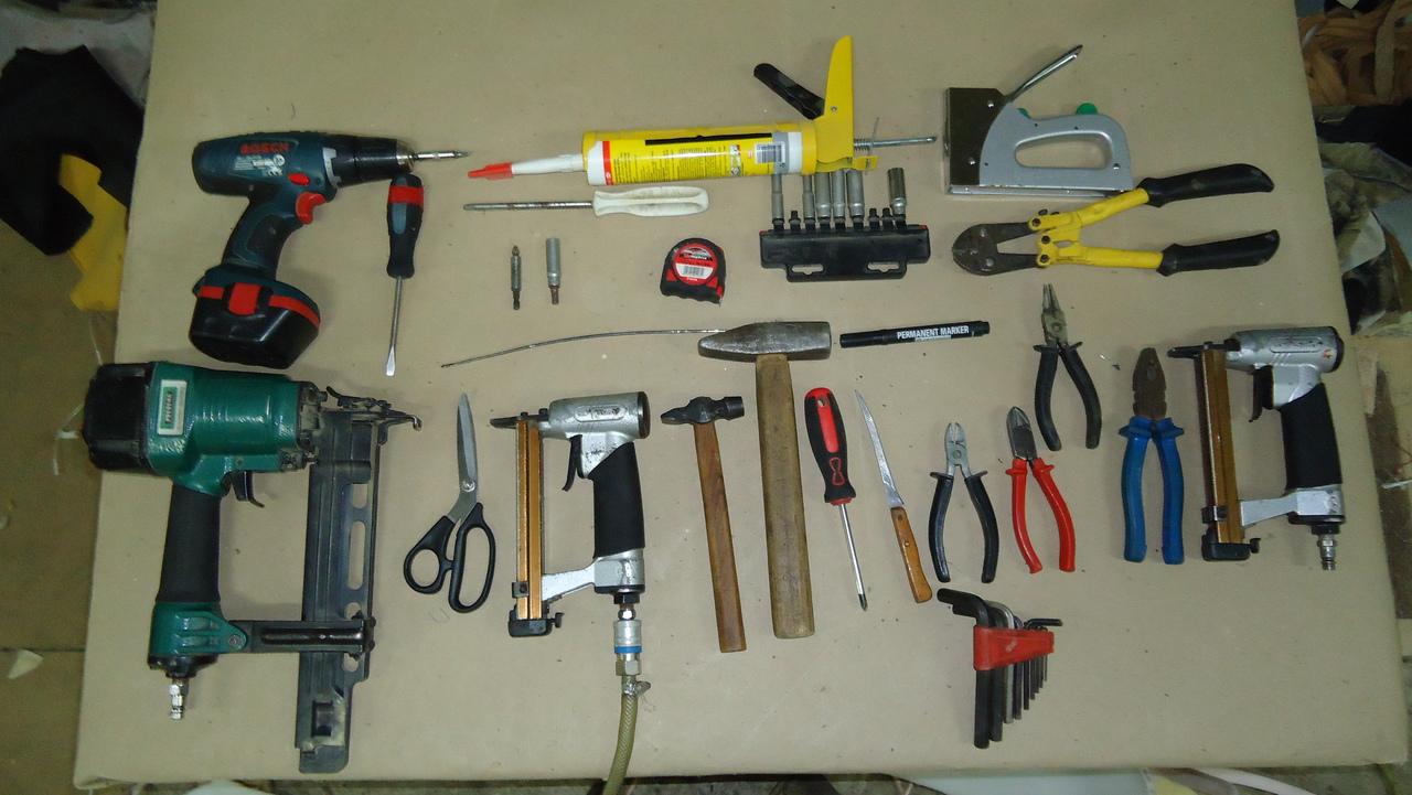 Рабочие инструменты