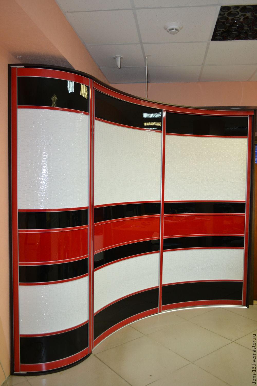 Радиусные шкафы - 65 фото новинок готовой мебели в интерьере.
