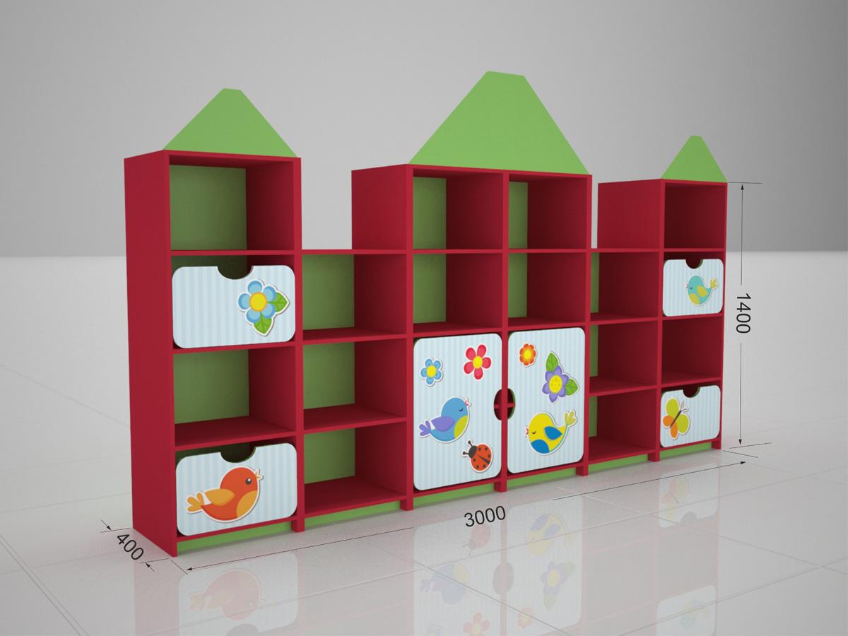 Размеры детского шкафа