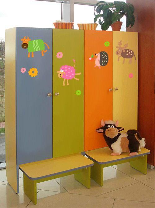 Размеры шкафчиков в детском саду