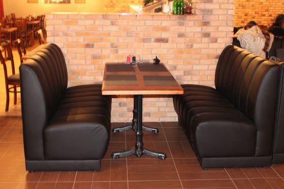 Размещение мебели в кафе
