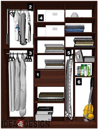 Шкаф 2 метра длиной