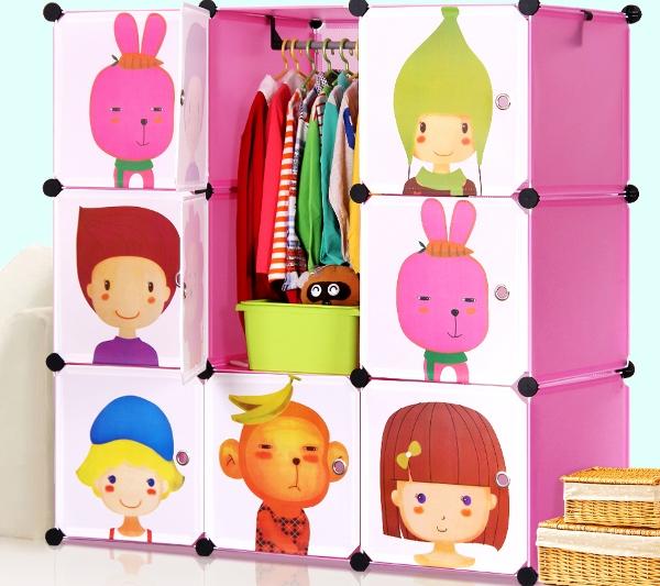 Шкаф для хранения игрушек и одежды