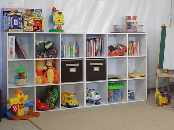 Шкаф для игрушек в детскую