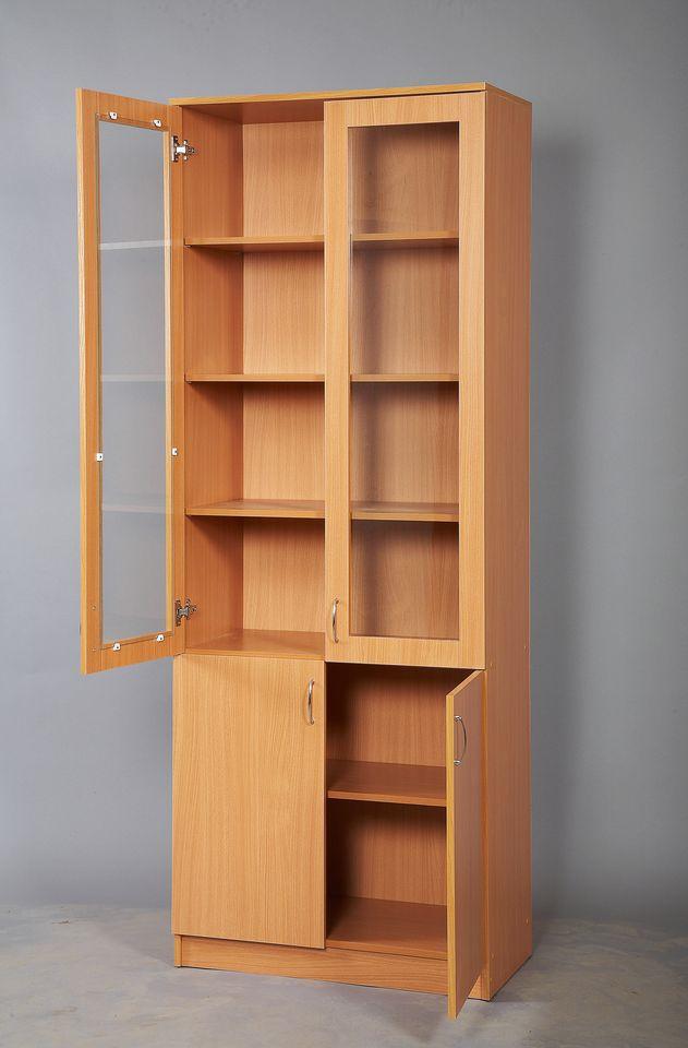 Шкаф для пособий со стеклом