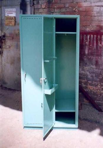 Шкаф голубой