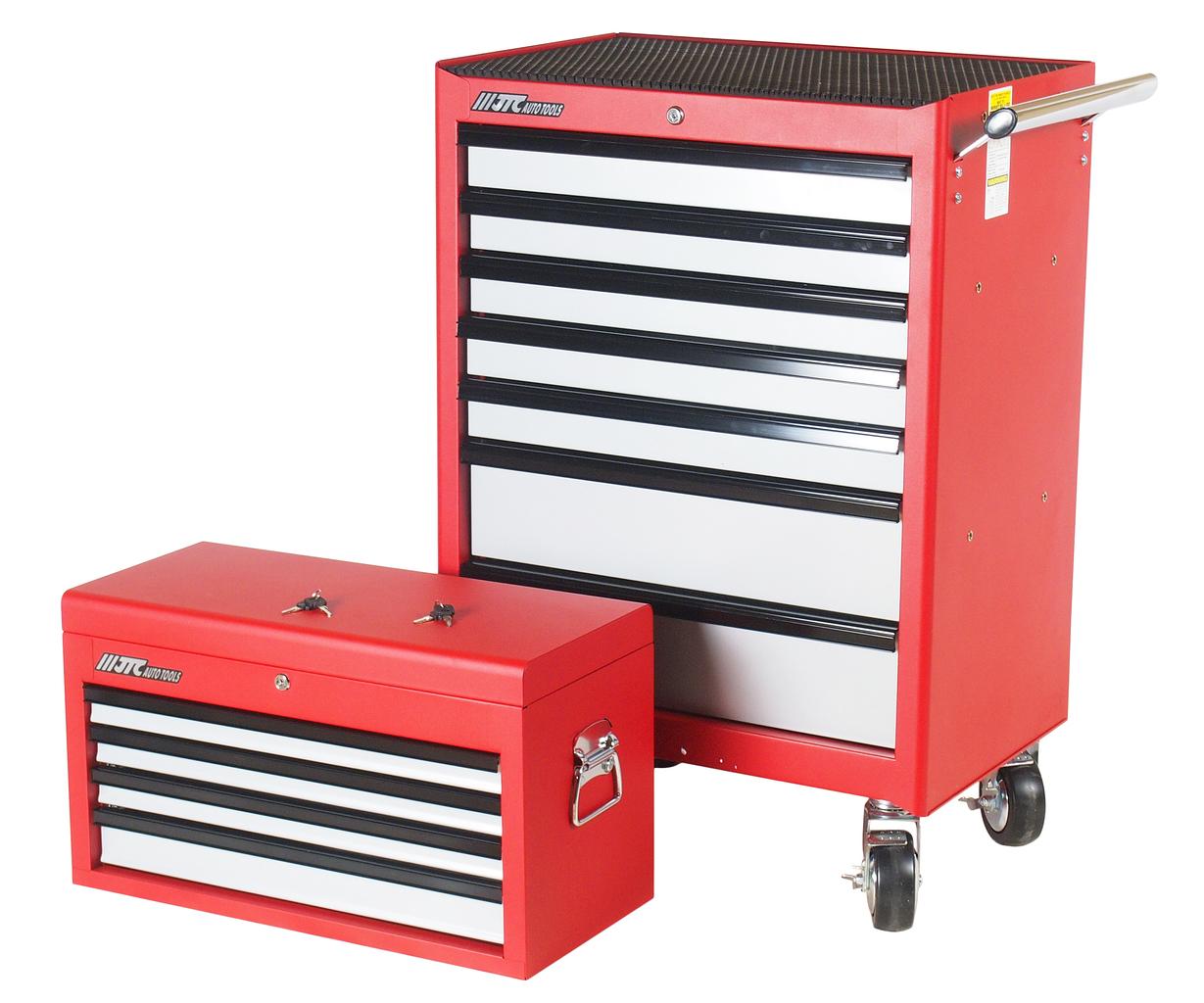 Шкаф инструментальный подкатной 4 секции