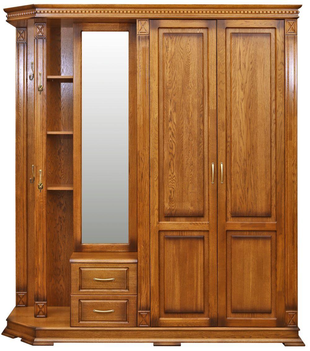 Шкаф комбинированный для прихожей