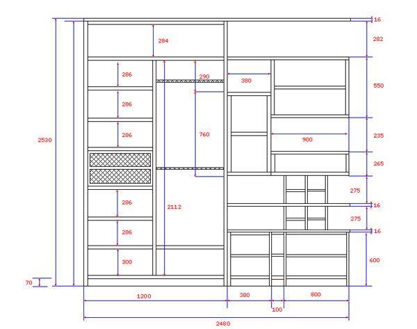 Шкаф-купе — один из самых функциональных предметов мебели