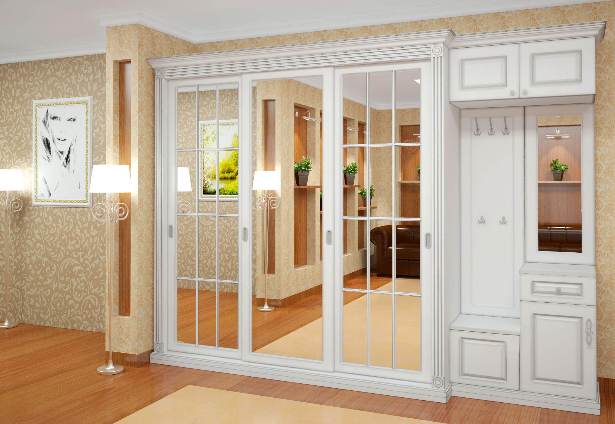 Красивые шкафы, способы декорирования фасада и варианты подс.