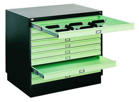 Шкаф-маппер для хранения чертежей формата А1