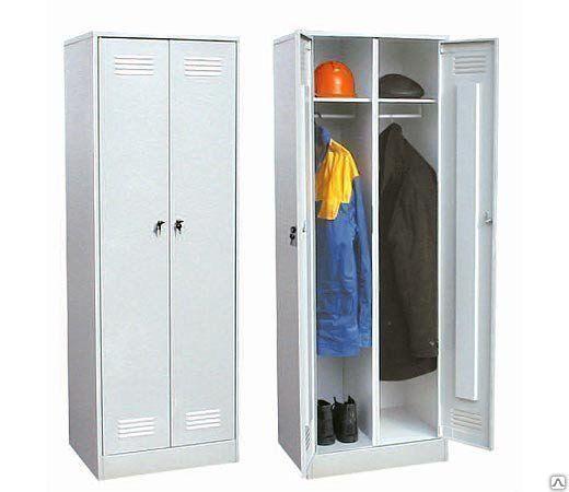Шкаф металлический для одежды