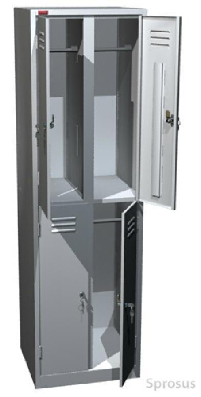 Шкаф с отсеками