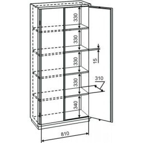 Шкаф с размерами