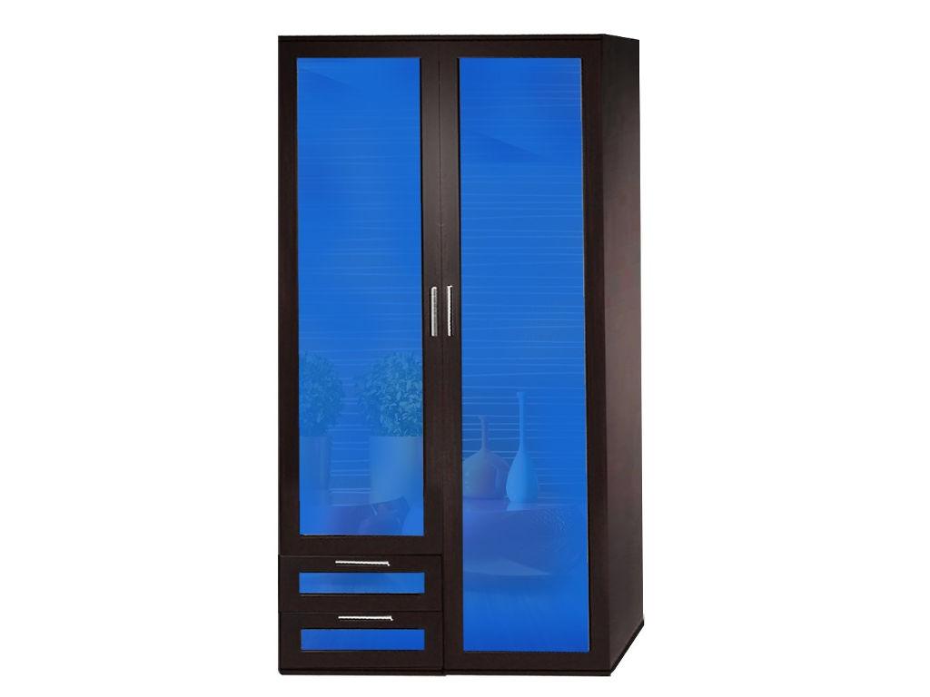 Шкаф с синим фасадом