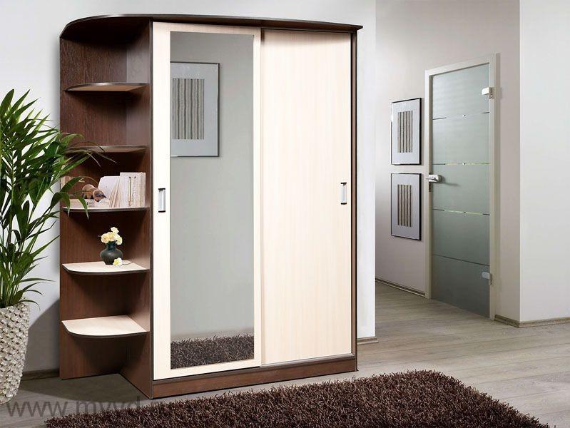 Шкаф с зеркалом и консолью