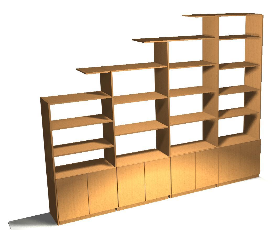 Шкаф стеллаж для школы